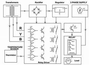 Induction Motor Protection System Circuit And Its Working
