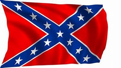 Flag Confederate Clip Clipart Rebel Pole National