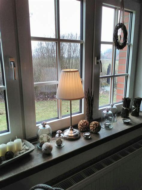 Fensterbank Deko Herbst Innen by Fensterbank Fenster Dekorieren