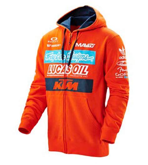 aomcmx  ktm troy lee designs factory zip hoodie