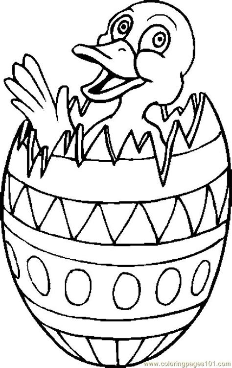 duck  easter egg  coloring page  holidays