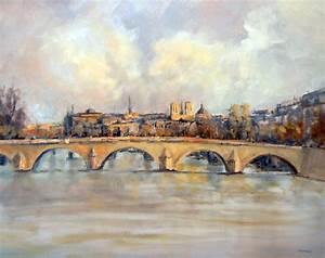 Peinture De Paris Poissy : tableau peinture paris 4 ~ Premium-room.com Idées de Décoration