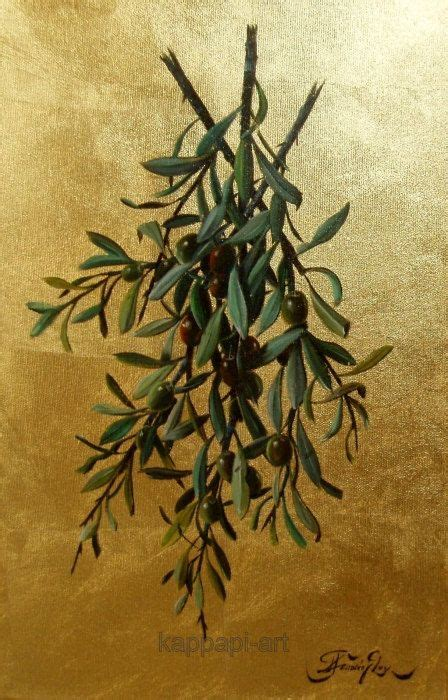 Paintings with Olive Branches