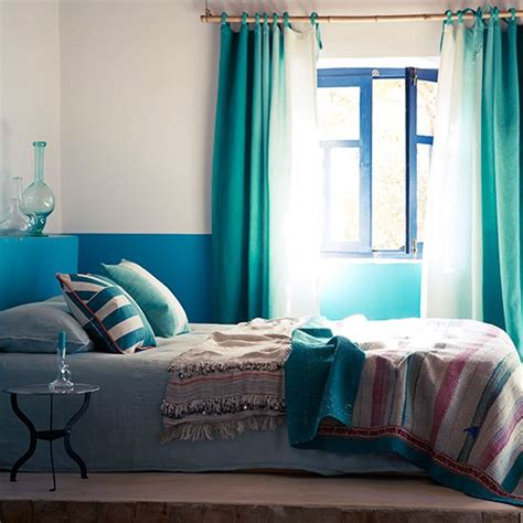 Peacock Blue Bedroom by Peacock Blue And Green Bedroom Bedroom Decorating