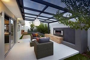 überdachte Terrasse Holz : moderne terrassengestaltung ~ Whattoseeinmadrid.com Haus und Dekorationen