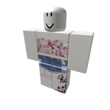 Adorable Flower Outfit - Roblox