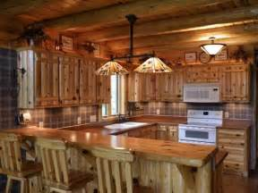 log cabin kitchen cabinets quotes