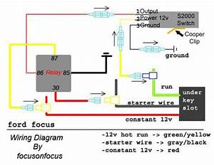 2000 Ford Focus Alternator Wiring Diagram