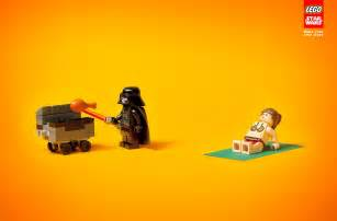 Star Wars LEGO Print Ad