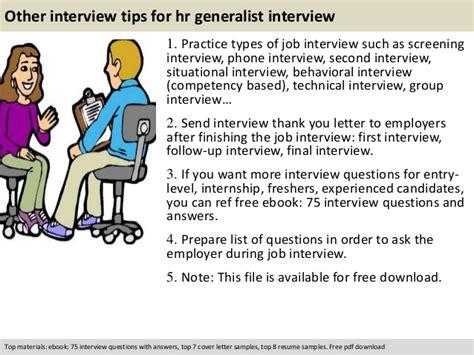 Questions For Hr Generalist hr generalist questions