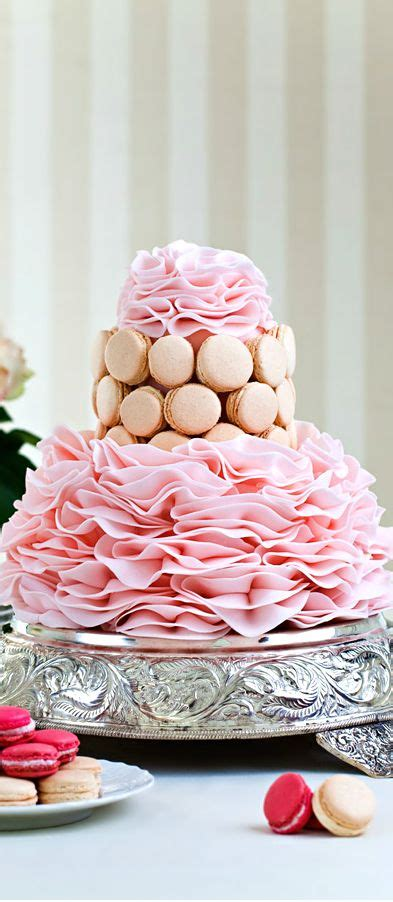 images  macaroon cakes  pinterest wedding