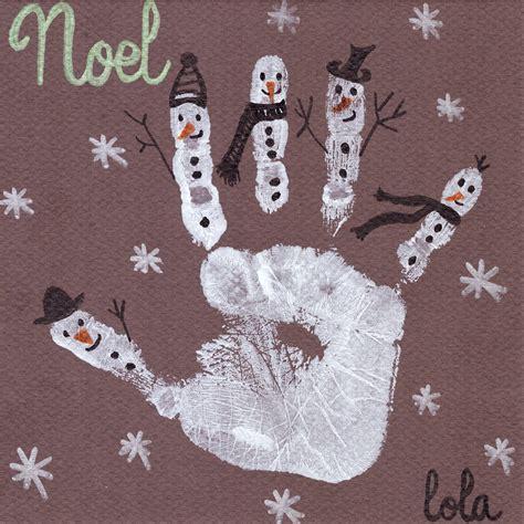 decorer sa cuisine empreinte bonhommes de neige jouonsensemble