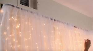 Tete De Lit Rideau : des rideaux lumineux dans votre chambre pour une d co toil e ~ Preciouscoupons.com Idées de Décoration