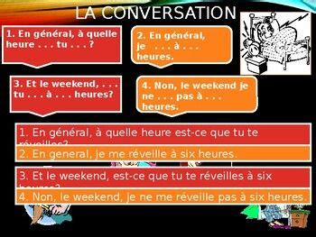 verbes reflechis french reflexive verbs powerpoint