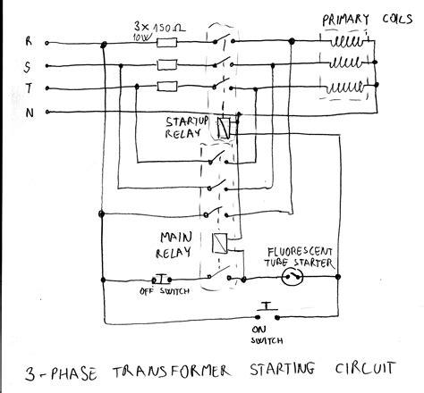 3 Phase isolation Transformer Wiring Diagram   Free Wiring ...