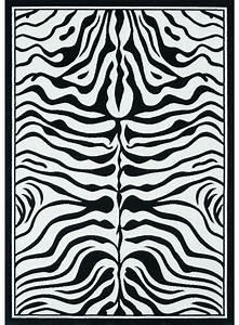 les tapis zebre noir With tapis motif zebre