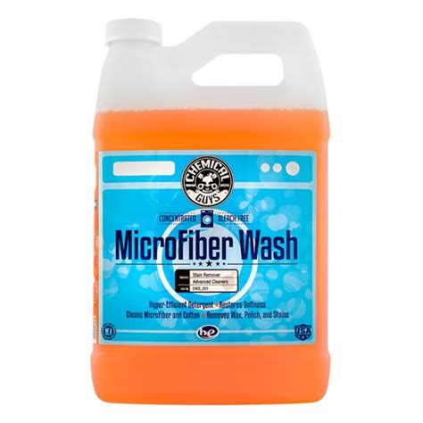 Microfiber Cleaner by Chemical Guys Microfiber Wash Cleaning Detergent