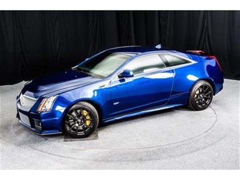 purchase  cts  opulent blue coupe  miles rare