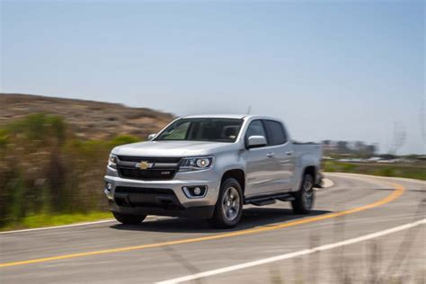 2019 Chevy Colorado Gets Updated Styling And Engines