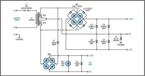 Power Supply Kit Circuit Diagram