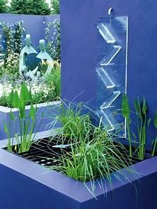 cascade fontaine de jardin et piece deau projets With salle de bain design avec fontaines cascades décoratives solaires