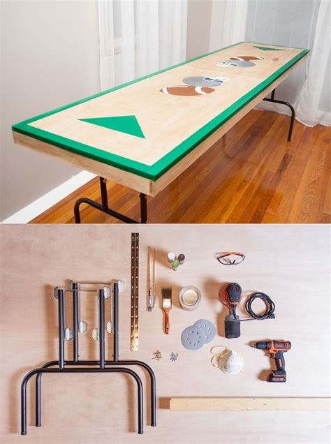how to make a beer pong table beer pong tables beer pong and how to build on pinterest