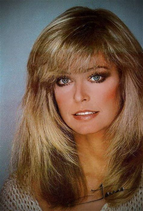 These golden tinted 1970s flicks are synonymous with the bombshell. jacqueline smith hairstyles - Google Search   Farrah ...