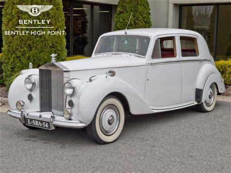 roll royce car 1950 1950 rolls royce silver dawn photos informations