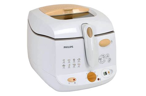cuisine amovible friteuse philips hd 6159 55 bl orange 2519062 darty