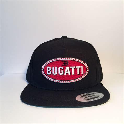 Kangol 504 ventair flat cap tan. Bugatti logo custom snapback hats from Bloom Pepper