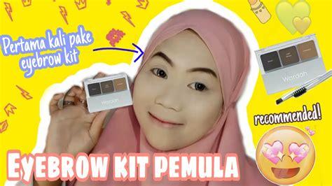 Wardah eye brow kit ini aku beli seharga 60.000an, lupa pasnya berapa hehe. Pertama kali pake eyebrow kit || Wardah eyebrow kit - YouTube
