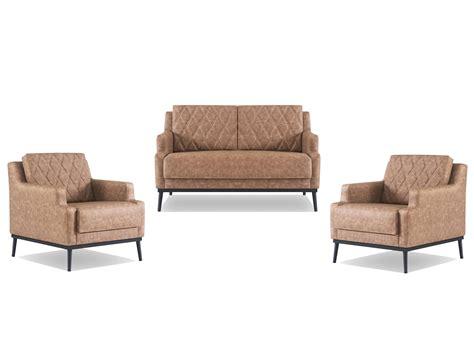 mit 2 sesseln tetra loungeset sofa mit 2 sesseln in braun gastro germany