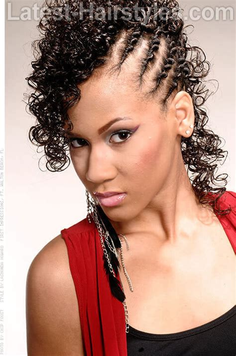 Cornrows And Curls Hairstyles by 24 American Hairstyles To Get You Noticed In 2018