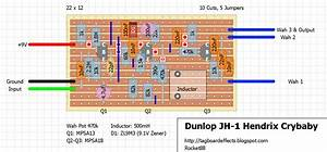 Guitar Fx Layouts  Dunlop Jh