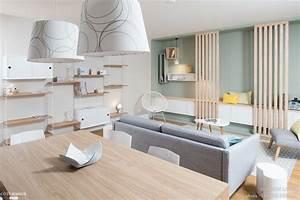 ambiance scandinave dans une piece a vivre a lyon marion With salle À manger contemporaine avec mobilier bureau scandinave