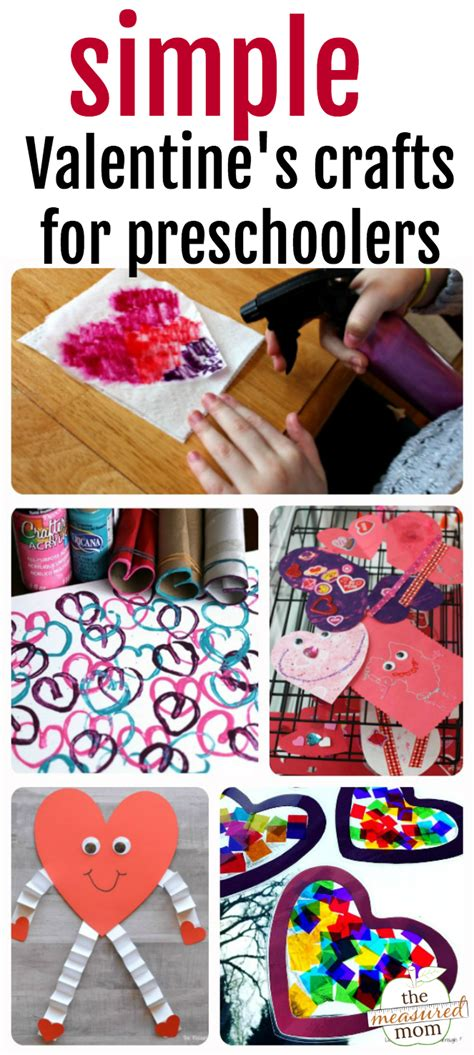 easy crafts for preschoolers the measured 726 | valentines crafts for preschoolers