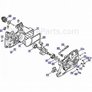 Stihl Ms 360 Chainsaw  Ms360 W  Parts Diagram  Crankcase