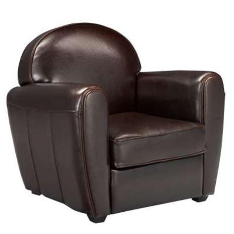 fauteuil alinea fauteuil club en cuir habana ventes pas cher