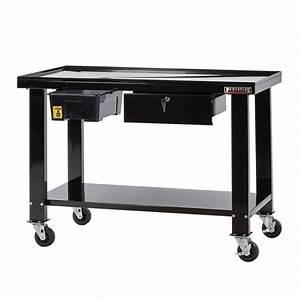 Tisch Rollen Klappbar : mobiler montagetisch mit rollen 120 x 64 cm werkbank mit lwanne demontage tisch mobil ~ Markanthonyermac.com Haus und Dekorationen