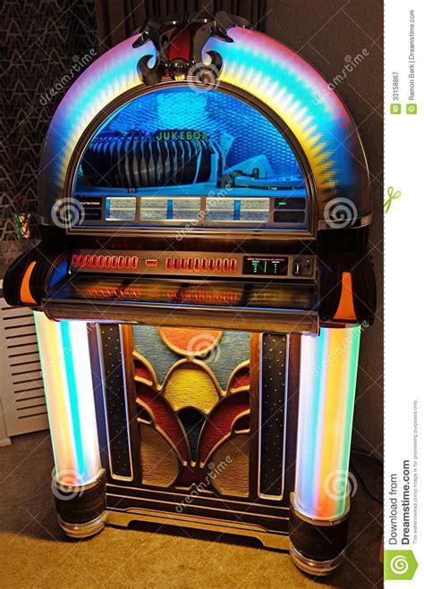 jukebox stock image image  roll song jukebox indoor