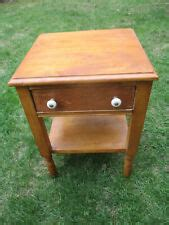 Maple Nightstands With Drawers by Maple Nightstands For Sale Ebay