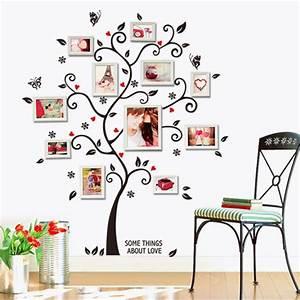 Aliexpress buy tree photo frame diy d vinyl wall