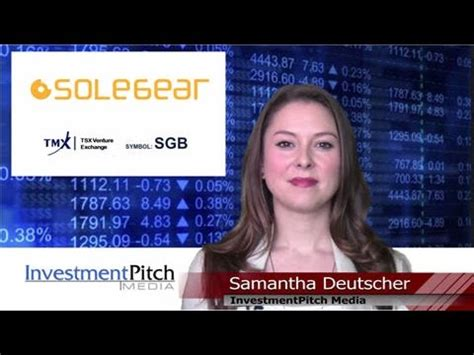 solegear bioplastic trading  tsx venture sgb