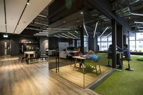 black and white bedroom ideas hong kong warehouse converted to creative office space