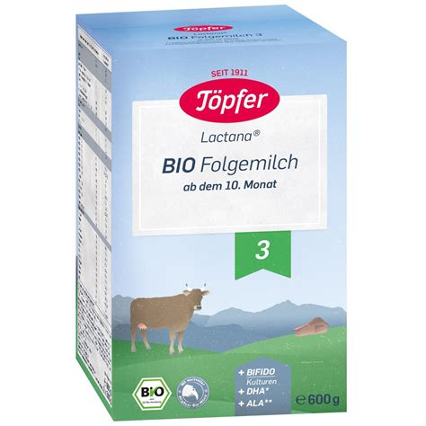 Formula de lapte praf Topfer 3 Bio de la 10 luni 600 g ...