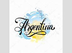 Tarjeta vintage Argentina ilustración de vector de