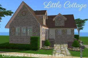 2 bedroom 1 bath house plans mod the sims cottage 39 s retirement house