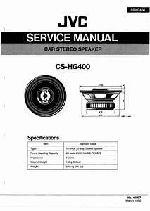 Jvc Cshg400