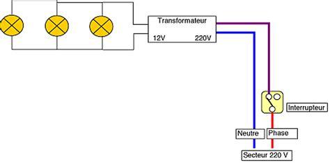 luminaire plafonnier cuisine brancher des spots encastrés avec un interrupteur