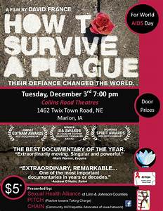 """How To Survive A Plague"" Showing at Collins Road Theatres ..."